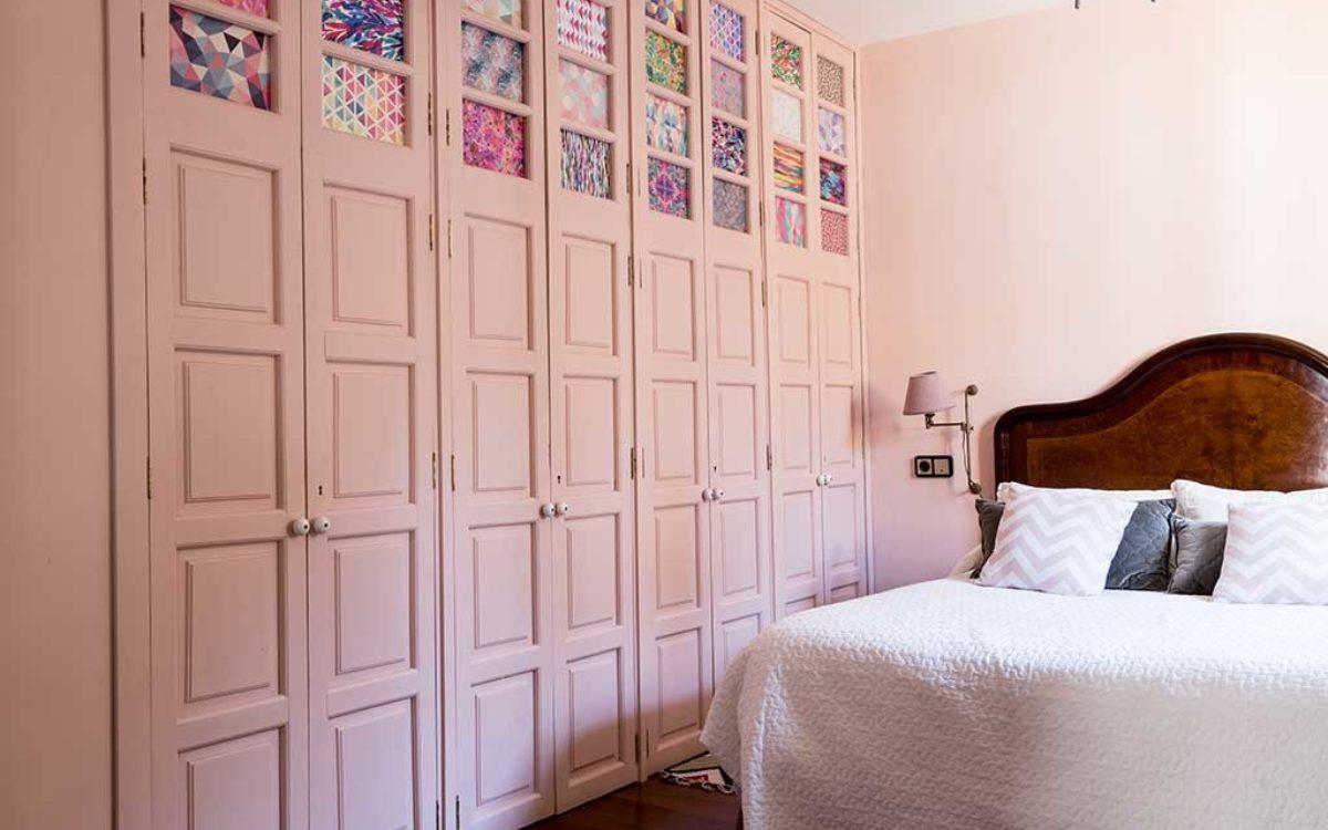 Estudio de arquitectura, construcción e interiorismo Auna Sevilla. Mobiliario y decoración. Dormitorio proyecto María Barroso 2