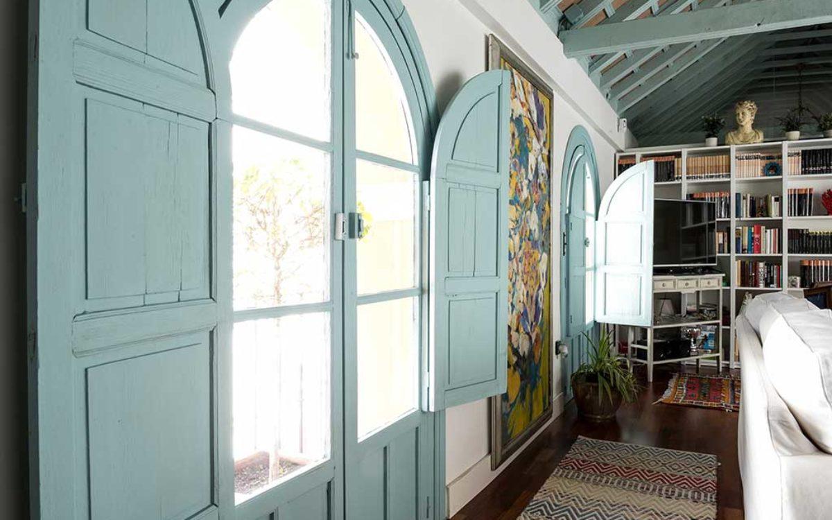 Estudio de arquitectura, construcción e interiorismo Auna Sevilla. Mobiliario y decoración. Salón proyecto María Barroso.