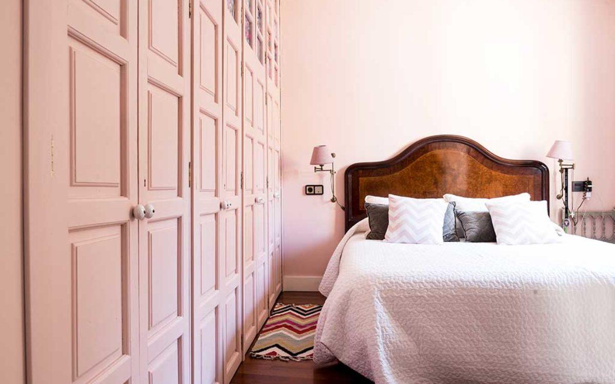 Estudio de arquitectura, construcción e interiorismo Auna Sevilla. Mobiliario y decoración. Dormitorio proyecto María Barroso.