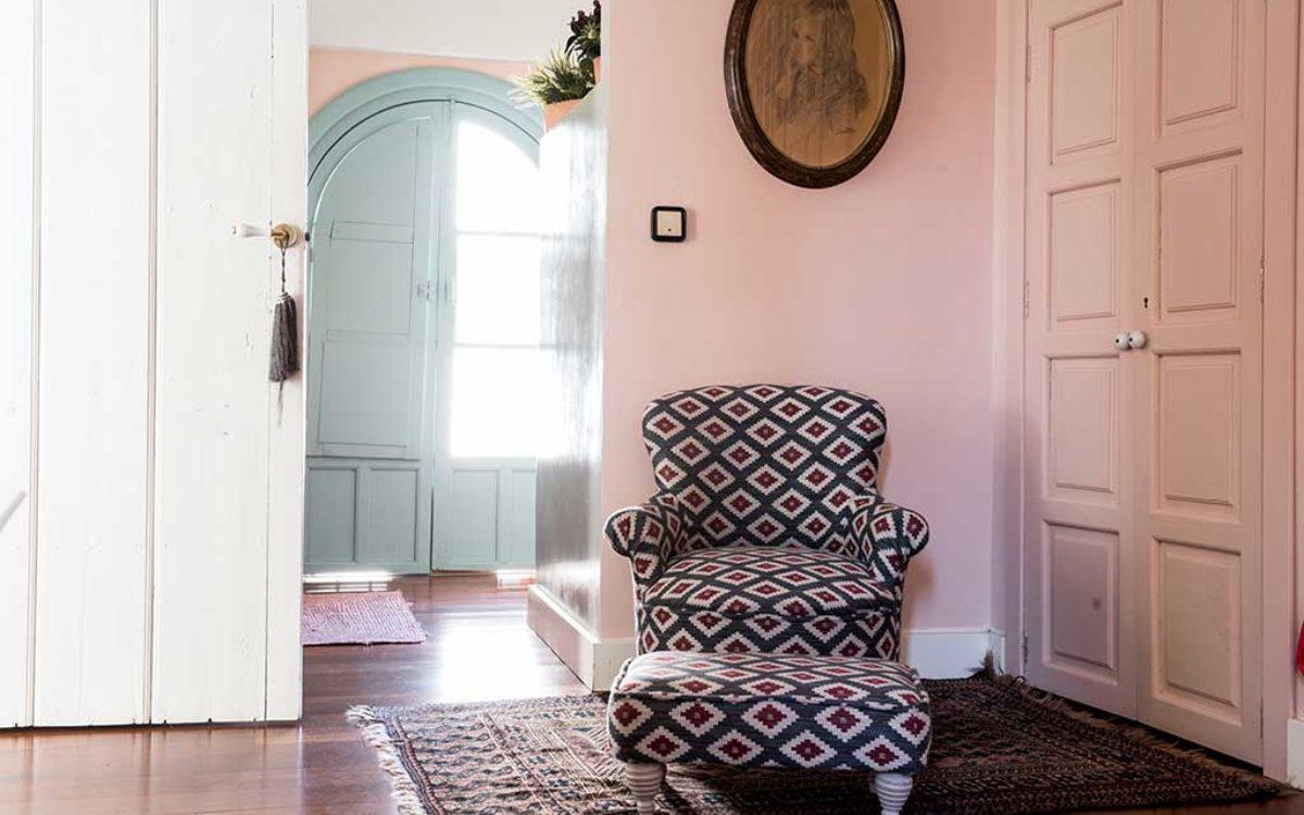 Estudio de arquitectura, construcción e interiorismo Auna Sevilla. Mobiliario y decoración. Living room proyecto María Barroso.